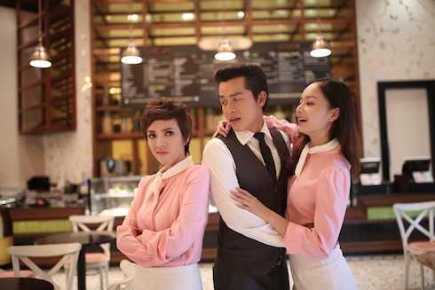 Thu Trang trong 'Làm dâu'.
