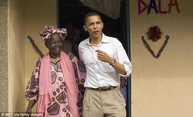 Tổng thống Obama và người bà ở Kenya