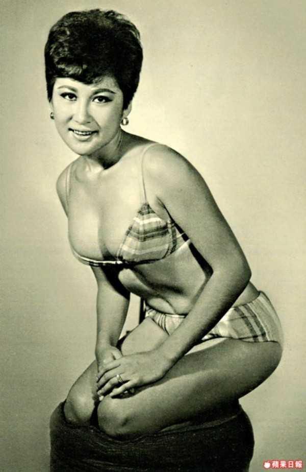 Vẻ đẹp nóng bỏng của nữ diễn viên Đài Loan. Vì bà, Lý Tiểu Long đã bỏ mặc vợ con ở Mỹ.