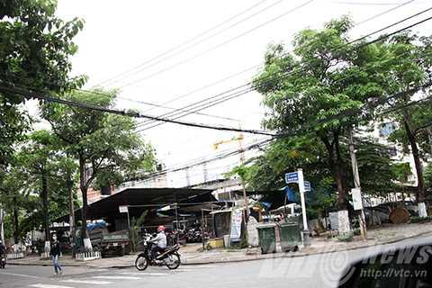 Khu đất tại ngã ba Trần Quý Cáp-Phan Bội Châu được cấp hoán đổi cho bà Yến Minh con ông Trần Thọ