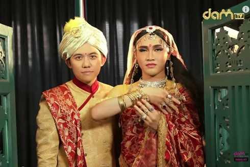 Bộ đôi Huỳnh Lập - Hồng Tú tiếp tục tạo tiếng cười qua sản phẩm Cô dâu 1800 tuổi.