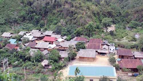 Bản Phồng - nơi xảy ra vụ thảm án nghiêm trọng khiến 4 người trong gia đình thiệt mạng