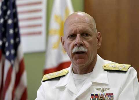 Tư lệnh Hạm đội Thái Bình Dương của Mỹ Scott Swift. (Nguồn: AP)