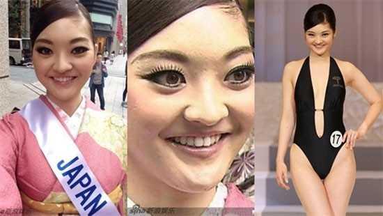 Hoa hậu Quốc tế Nhật Bản 2014 Rira Hongo từng là đề tài bàn tán của cư              dân mạng vì quá xấu. Hầu hết mọi người đều không thể tin với diện mạo              như vậy, cô có thể đăng quang.