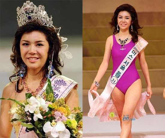 Hoa hậu Hàn Quốc 2008 Seon Na Ri bị cho là xấu nhất trong lịch sử các              cuộc thi sắc đẹp của nước này. Khi đăng quang ở tuổi 22, cô trông già và              gương mặt có nét nam tính.