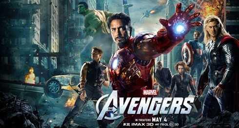 Biệt đội siêu anh hùng (Avengers) của Marvel gồm các nhân vật trứ danh Iron-Man, các dị nhân X-Men, Spider-man,…