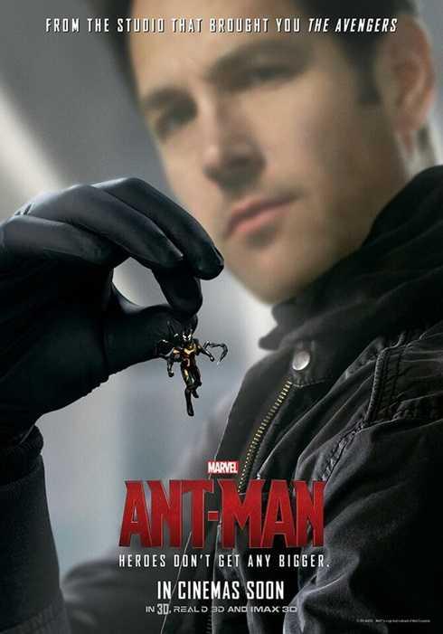 Sự tham gia diễn xuất của Paul Rudd trong vai siêu trộm kiêm siêu anh hùng Scott Lang.