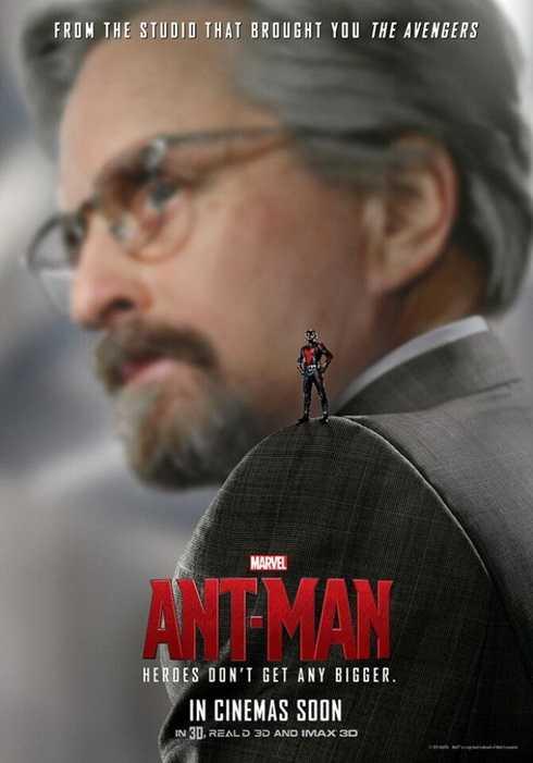 Sự trở lại của nam diễn viên gạo cội Micheal Douglas trong vai Dr.Hank Pym.