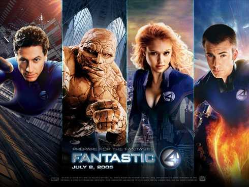 Fantastic four là một bộ phim thành công, đứng đầu danh sách những bộ phim ăn khách nhất Bắc Mĩ vào thời điểm khởi chiếu năm 2005.