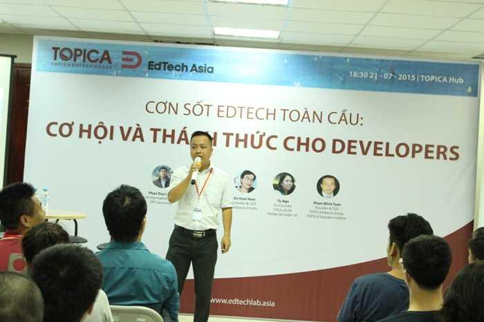 Sự kiện có sự góp mặt của nhiều chuyên gia trong lĩnh vực công nghệ và giáo dục