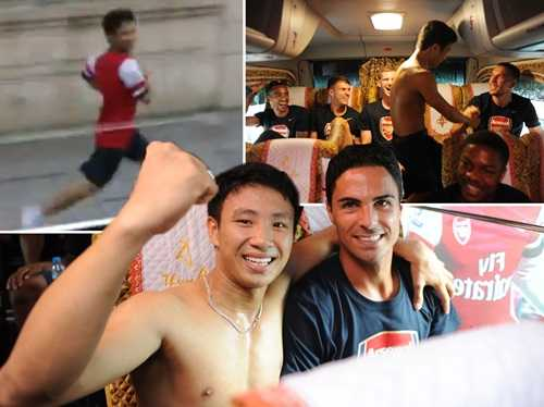Running Man Vũ Xuân Tiến nổi tiếng sau sự kiện Arsenal sang Việt Nam
