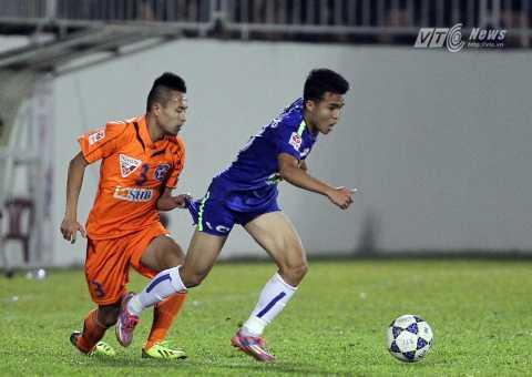 Võ Huy Toàn sẽ là cầu thủ đáng chú ý nhất của SHB Đà Nẵng trận này (Ảnh: Minh Trần)