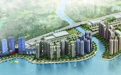 Dự án tòa tháp Empire City, có tòa tháp cao nhất Việt Nam 86 tầng
