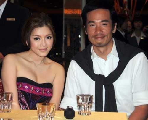 Trần Hào dành những lời khen có cánh cho người đồng hành xinh đẹp: