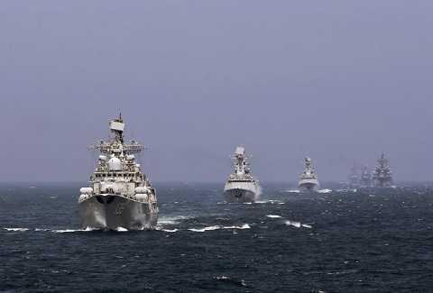 Chiến hạm của hải quân Trung Quốc