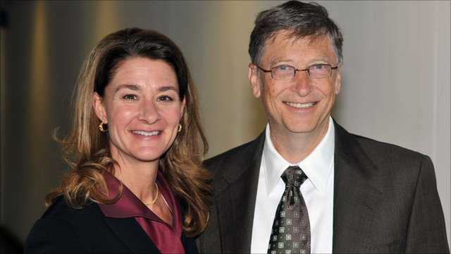 Chân dung Bill Gates và
