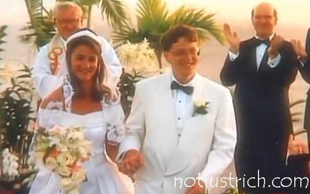 Hình ảnh hiếm hoi về đám cưới của Bill và Melinda năm 1994