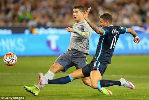 Tình huống ghi bàn của Ronaldo