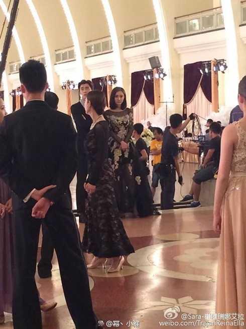Lý Dịch Phong và Dương Mịch trong những cảnh quay cuối cùng.