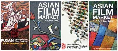 Mỗi năm, Liên hoan phim quốc tế Busan lại có một thiết kế poster mới lạ.