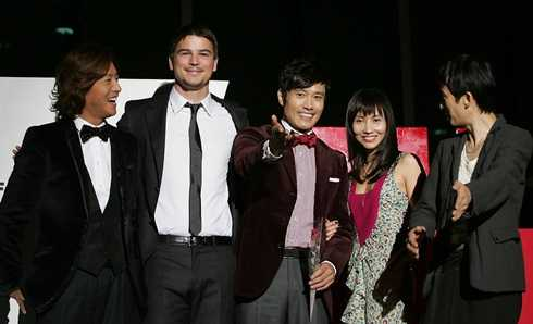 Liên hoan phim quốc tế Busan không chỉ quy tụ các ngôi sao châu Á mà còn quy tụ các ngôi sao  khắp nơi trên thế giới.