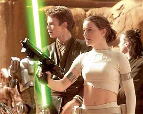 Từ1999-2005, cô tham gia vai diễn trong loạt phim đình đám Star Wars I, II, III.