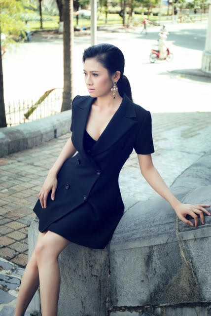 Trương Thái An - cô gái với gương mặt cá tính, Thái An hiện đang đảm nhiệm vai trò đào tạo các người mẫu trẻ tại Cty Lukas của ông trùm 9x Kenbi Khánh Phạm.