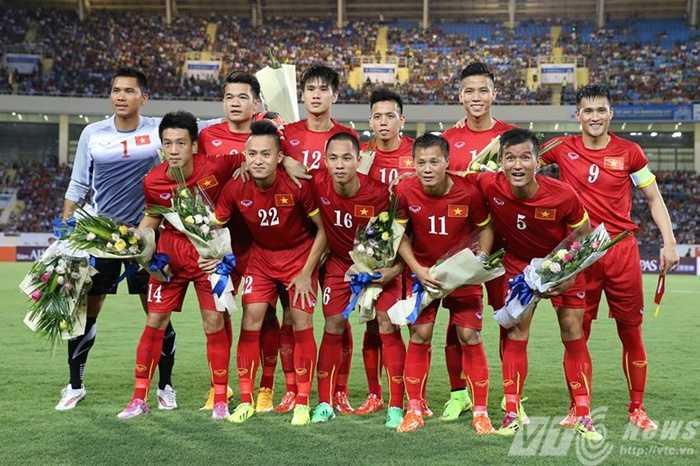 Đội hình ĐT Việt Nam