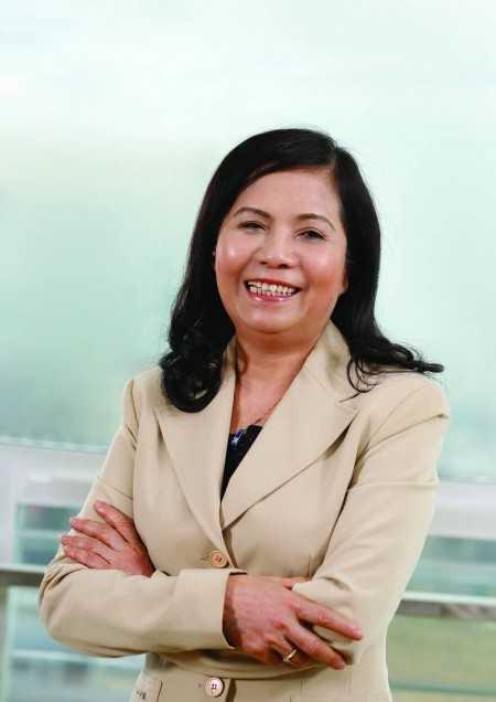 Bà Lê Thị Băng Tâm khẳng định, thay đổi nhân sự của Vinamilk không liên quan vấn đề tuổi tác. Ảnh: Thời Báo Ngân Hàng.