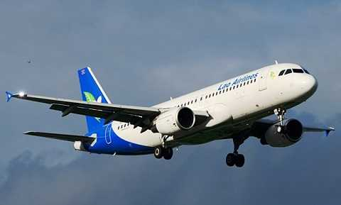 Máy bay Airbus A320 của Lao Airlines