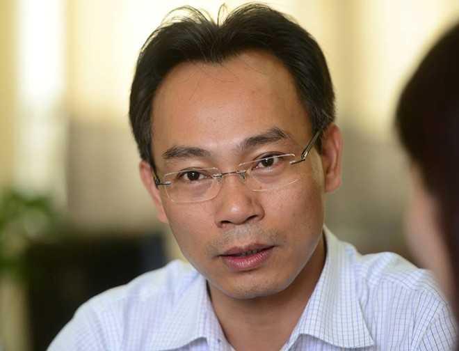 Hiệu trưởng trường ĐH Bách khoa Hà Nội Hoàng Minh Sơn (Ảnh: Zing)