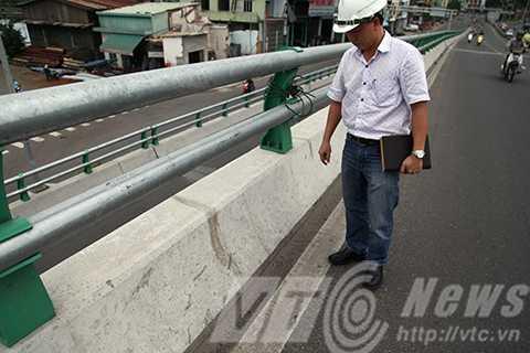 Theo ông Nguyễn Phi Thoàng, Phó Phòng Dự án Trung Nam BT Ngã Ba Huế, các vết nứt chỉ gây mất mỹ quan, không ảnh hưởng đến kết cấu cũng như sự ổn định công trình nên người dân không nên lo lắng