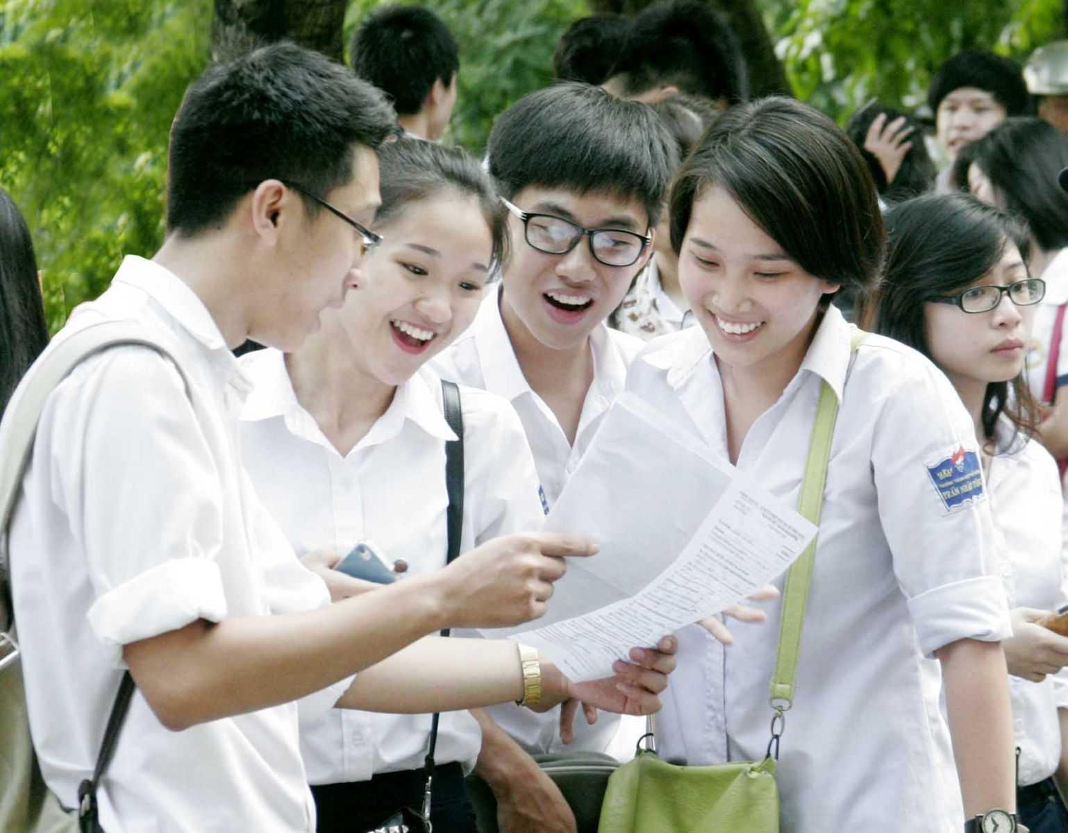 Nhiều trường đại học đã đưa ra ngưỡng điểm xét tuyển và dự báo điểm chuẩn năm 2015