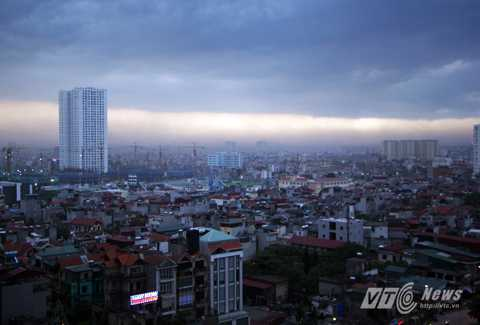 Hà Nội sắp có mưa dông rất lớn. (Ảnh minh họa)