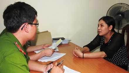 Bà Hoàng Thị Oanh bị bắt giữ để điều tra về hành vi trốn thuế.