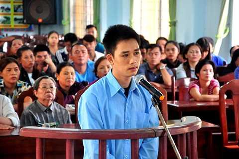 Hoàng Văn Hậu tại tòa