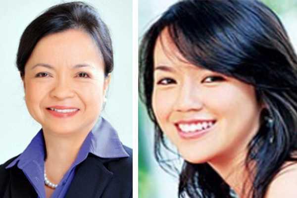 Bà Nguyễn Thị Mai Thanh và con gái Nguyễn Ngọc Nhất Hạnh