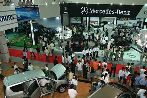 Triển lãm Vietnam Motor Show là hoạt động thường niên của VAMA, quy tụ hầu hết các sản phẩm xe hơi lắp ráp trong nước