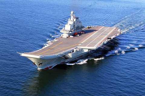 Tàu sân bay Liêu Ninh của Hải quân Trung Quốc