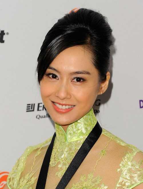 Nữ diễn viên Chu Nhân - Ảnh: AFP/Getty Images