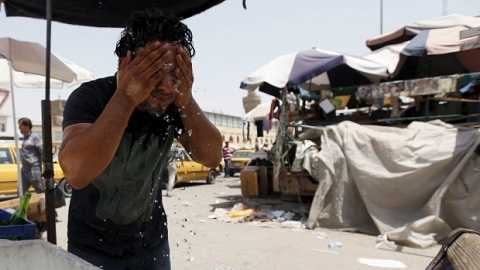 Nắng nóng ảnh hưởng đến cuộc sống của người vùng Trung Đông