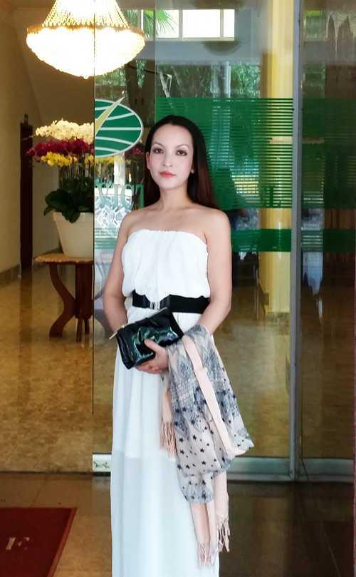 Linh Nga sau 10 năm từ Mỹ trở về Việt Nam.