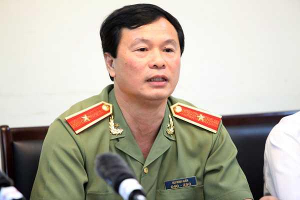 Thiếu tướng, PGS.TS Bùi Minh Giám, Cục trưởng Cục đào tạo, Bộ Công an.(Ảnh: CAND)