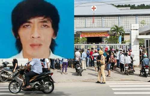 Nghi can Đỗ Thanh Sơn và người tình đang được chữa trị tại BV đa khoa huyện Phú Quốc, được cơ quan công an canh gác nghiêm ngặt