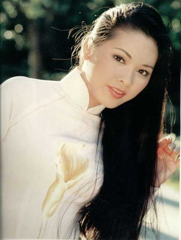 Hình ảnh Như Quỳnh xinh đẹp khi còn trẻ.
