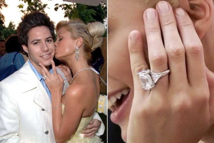 Paris Hilton - 4,7 triệu USD. Cặp đôi Paris - Paris một thời từng là một cặp đôi của sự xa xỉ, danh giá. Họ cùng nhau trải nghiệm những tiện nghi đắt giá nhất thế giới. Trong đó nổi bật là chiếc nhẫn đính hôn