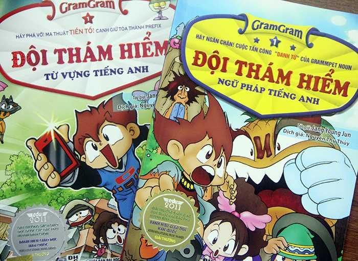 Đọc truyện tranh, giỏi tiếng Anh cùng bộ sách