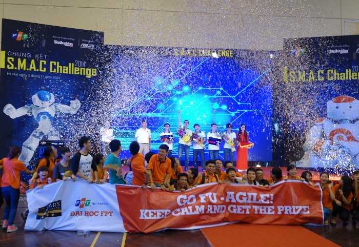 Bạn trẻ tham gia cuộc thi S.M.A.C Challenge có thể giành tổn giải thưởng lên tới 250 triệu đồng.
