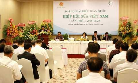 Quang cảnh Đại hội Hiệp hội sữa Việt Nam