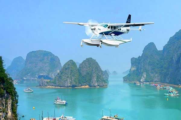 Hàng không Hải Âu hiện mới được cấp phép bay tại hai tỉnh Quảng Ninh và Bình Thuận